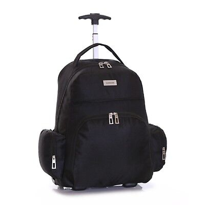 £24.99 • Buy Wheeled Cabin Laptop Computer Suitcase Trolley Hand Luggage Case Bag Backpack