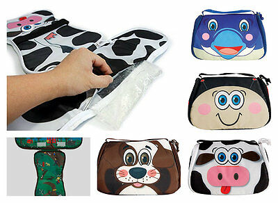 Snack Pets Flipper Freezable Resuable Lunch Box • 5.99£
