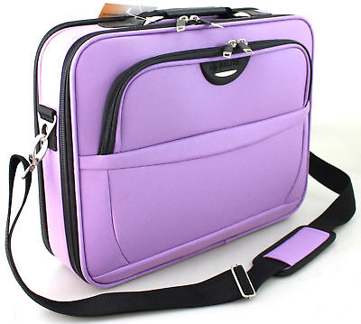 Women Executive 17  16  Laptop Bag Case Briefcase Shoulder Bag Office Handbag UK • 23.99£
