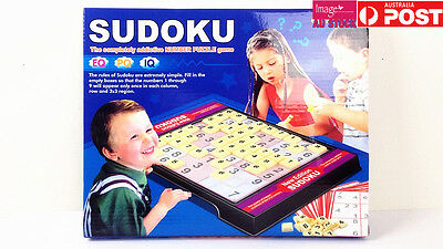 AU11.99 • Buy Sudoku Board Games Set For Kids Number Puzzle Games Educational Toys Family Fun
