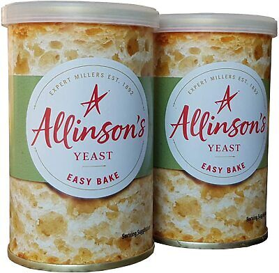 Allinsons Easy Bake Yeast 100g For Bread Machines Or Hand Baking • 5.95£