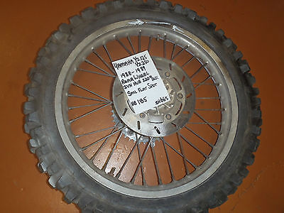 AU185 • Buy 1988 - 1989 Yamaha Yz 125 Rear Wheel