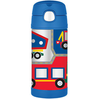 AU25.99 • Buy THERMOS Funtainer 355ml Vacuum Insulated Beverage Bottle Construction Vehicles!