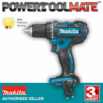 Makita DHP482Z 18v LXT Li-Ion CombiDrill 2-Speed- Blue- Naked- Replaces DHP456Z • 42.99£