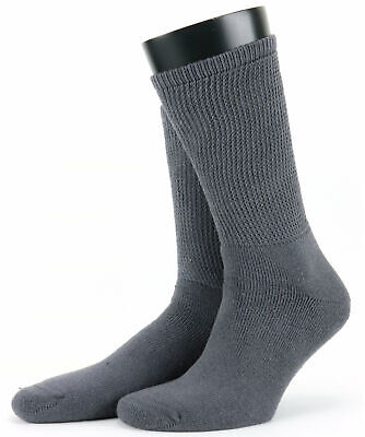 £5 • Buy HJ Extra Wide Fitting Diabetic Friendly Cotton Comfort Sock, HJ1351