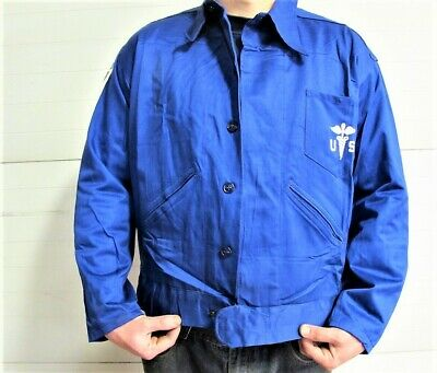 $16.50 • Buy Embroidered Military Lab Jacket, Lab Coat, Scrub Top, Shop Jacket