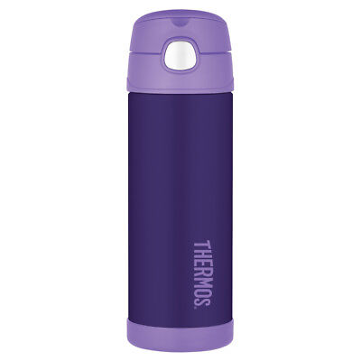AU34.95 • Buy THERMOS Funtainer 470ml Vacuum Insulated Beverage Bottle Purple! RRP $39.95!