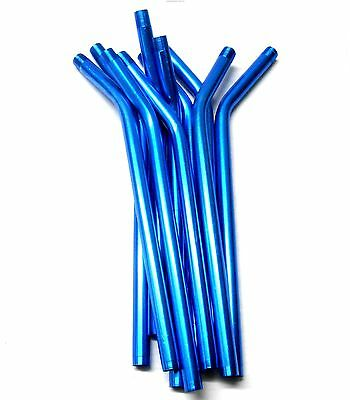 £2.80 • Buy L11442 RC Nitro Fuel Refill Bottle Pipes Only X 10 Blue 8mm Diameter