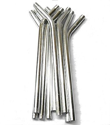 £2.80 • Buy L11443 RC Nitro Fuel Refill Bottle Pipes Only X 10 Silver 8mm Diameter