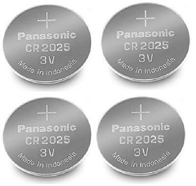 Panasonic CR2025 Lithium Coin Cell 3V Battery Car Key Fobs Toys Remote Batteries • 2.99£