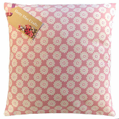 £6.95 • Buy Vintage/Shabby Chic Clarke And Clarke Daisy Pink Fabric Cushion Cover