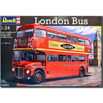 REVELL London Bus Routemaster 1:24 Model Car Kit - 07651 • 51.95£