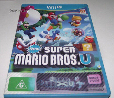 AU49.90 • Buy New Super Mario Bros U + Luigi Nintendo Wii U PAL * #2