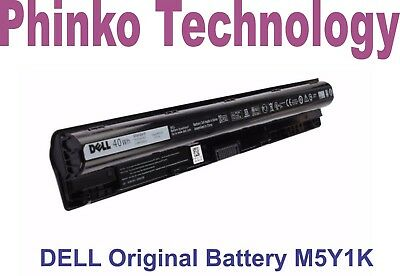 AU86.89 • Buy New DELL M5Y1K Battery 14.8V 40Wh For Dell Inspiron 3451 3551 3458 3558