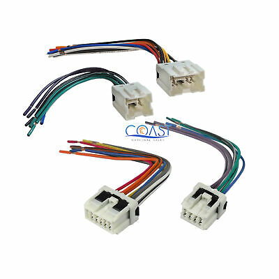 $9.95 • Buy Car Radio Stereo Wiring  Harness Plug Combo For Select 1995-up Nissan Infiniti