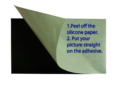 £7.04 • Buy 7+1 Flexible Magnet Sheet,self Adhesive, One Side Silicone Paper.10X15 Cmֵ 4X6