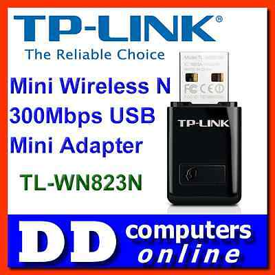 AU19 • Buy TP-Link TL-WN823N Mini Wireless N 300Mbps USB Adapter Laptop Notebook PC Network