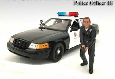 American Diorama 1/18 LAPD Style Police Officer Figure #3 - 24013 • 8.50$