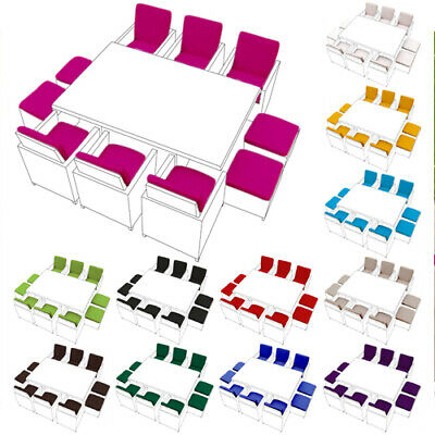 £139.97 • Buy Replacement 16pc Cushion Set For 10 Seater Rattan Garden Furniture Dining Cube