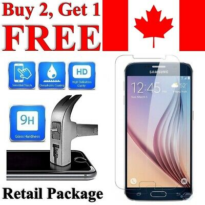 $ CDN3.95 • Buy Premium Tempered Glass Screen Protector For Samsung Galaxy S6