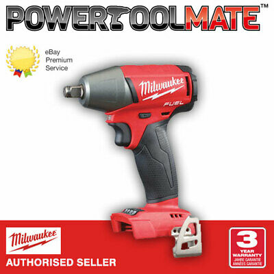 £96.99 • Buy Milwaukee M18FIWF12-0 18v 1/2in Friction Ring Impact Wrench - Naked - Bare Unit