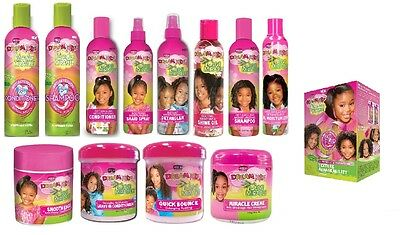 £5.99 • Buy African Pride Dream Kids Moisturising Detangling Afro Hair Care Styling Products