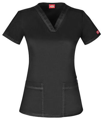 $22.98 • Buy Dickies Gen Flex Style DK800 V Neck Scrub Top Pick Size & Color - Free Shipping!