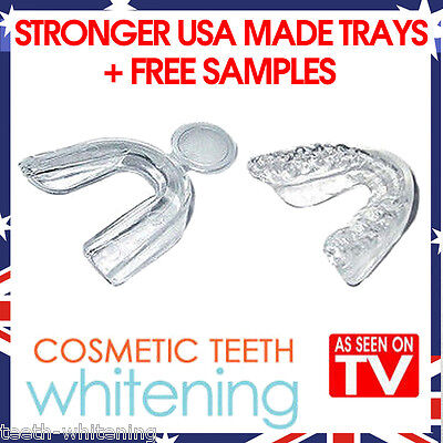 AU12.95 • Buy Teeth Whitening Mouth Tray Set (4 Trays) - High Quality Better Usa Made Guards