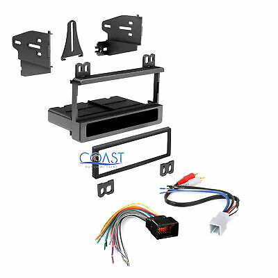 $18.95 • Buy Car Radio Stereo Single Din Dash Kit Harness For 1998-up Ford Lincoln Mercury