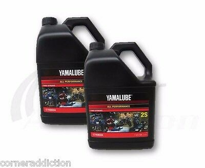AU99.56 • Buy  Yamalube All Purpose 2 Stroke Motorcycle ATV Snowmobile Oil 2-S 2 Gallons