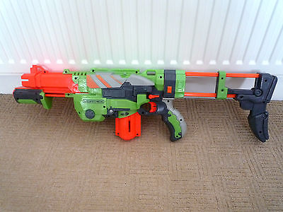 £19.99 • Buy Nerf Gun Vortex Praxis With Cartridge & Removeable Stock  & 7 Disc Bullets