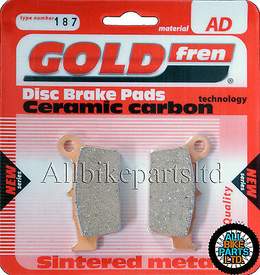 $17.97 • Buy Yamaha YZ 125 Rear Sintered Brake Pads 2005 - Goldfren - YZ125 YZ-125