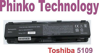AU49.50 • Buy 5200mah Laptop Battery For TOSHIBA Satellite PA5024U-1BRS PABAS260 C850 C850D AU