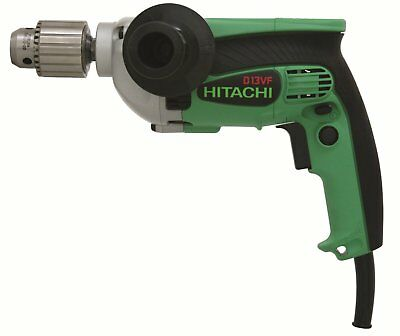 View Details HITACHI D13VF 1/2 Inch Electric Corded Drill 9.0 Amp EVS Reversible • 49.95$