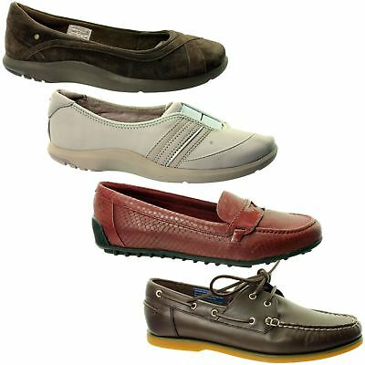 Rockport Womens Shoes / Flats~Various Styles~Rrp £35-£50~Sale Price~Leather~MV7 • 19.99£