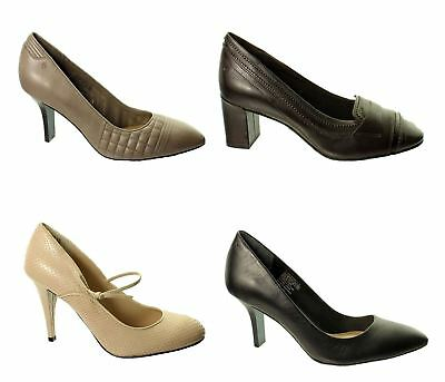 Rockport Womens Shoes / Heels~Various Styles~Rrp £35-£50~Sale Price~Leather~MV8 • 12.99£