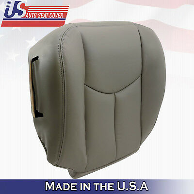 $76.84 • Buy 2003 2004 2005 2006 Chevy Tahoe Suburban Driver Bottom Seat Cover Gray 922