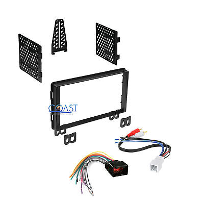 $14.95 • Buy Double DIN Car Radio Stereo Dash Kit Harness For 2001-06 Ford Lincoln Mercury