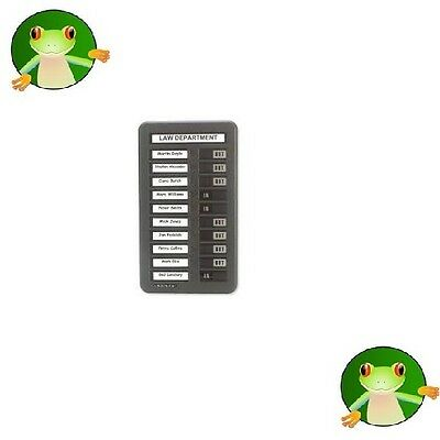 £96.80 • Buy Indesign Staff In/out Boards With 10, 20 & 40 Name Slots **great Prices**