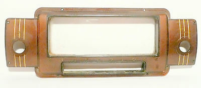 $ CDN63.44 • Buy Vintage SILVERTONE * 7050 TUBE RADIO:  Complete STATION FACEPLATE W/ ORIG SCREWS