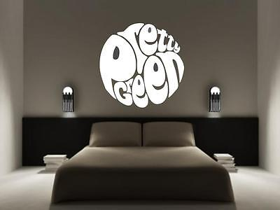£3.49 • Buy PRETTY GREEN Liam Gallagher Oasis Wall Sticker Decal Car Scooter ALL COLOURS