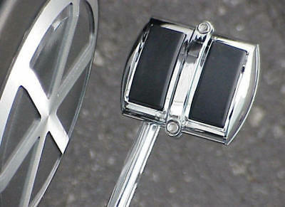 $8.95 • Buy Suzuki Volusia 800 Intruder 1500 Boulevard C50 C50T M50 C90 CHROME PEDAL COVER