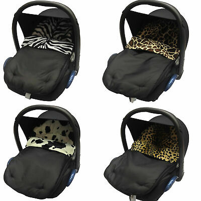 Animal Print Padded Baby  New Car Seat Footmuff/Cosy Toes. New!! • 9.99£