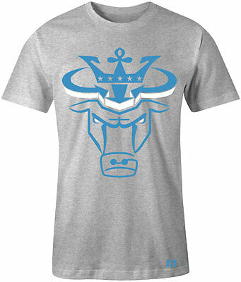 $27.99 • Buy  CROWN BULL  T-shirt To Match Retro 12  WOLF GREY