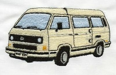 VW T25 Campervan Embroidered & Personalised Polo Shirt • 17.45£