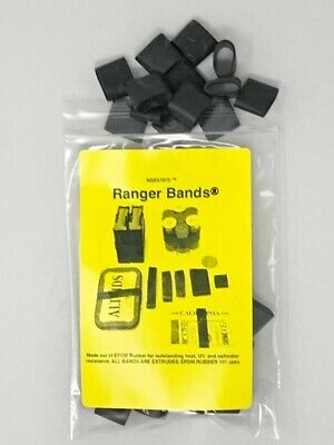 $8.49 • Buy Ranger Bands® 40 Small Heavy Duty Rubber Bands Made Of EPDM Rubber Survival Gear