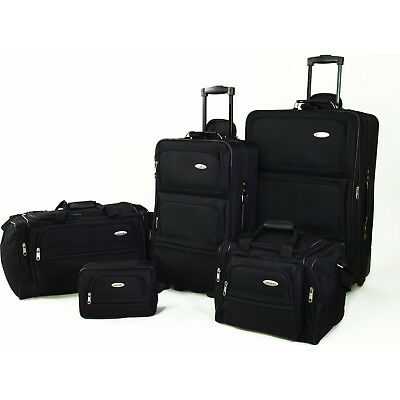View Details Samsonite 5 Piece Nested Luggage Suitcase Set - 25 Inch, 20 Inch & More • 129.00$