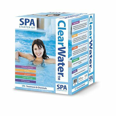 New Clearwater Spa Hot Tub Pool Starter Kit All Chemicals Needed For Maintenanc • 49.95£