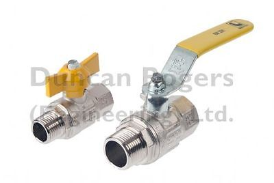 London Ball Valve Male/Female 1/4  - 2  BSP – Gas Approved • 7.92£