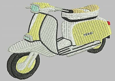 Lambretta Scooter Embroidered & Personalised Hoodie • 21.75£